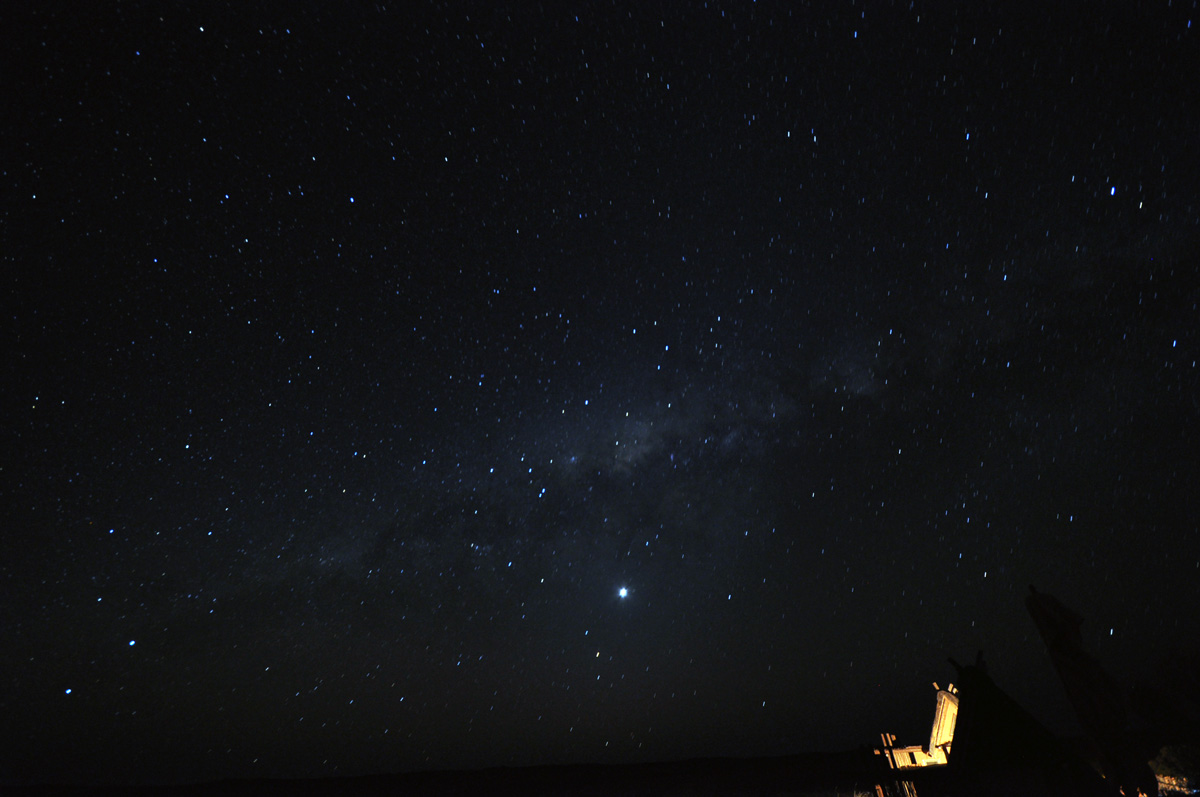 milky way at xaus lodge