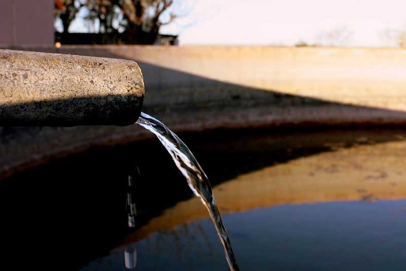 Xaus lodge kgalagadi water shortage
