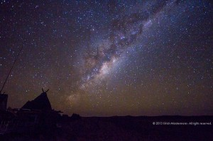 Milky Way over !Xaus Lodge. Image by Ulrich Munstermann of www.munstermann.net
