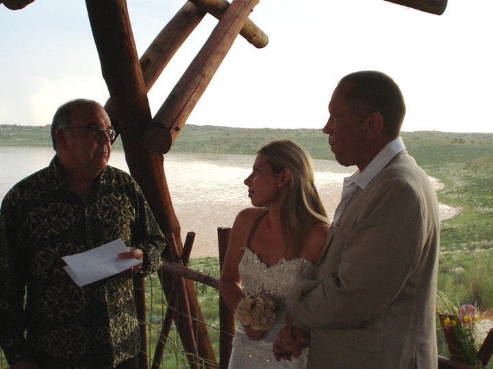 Getting married at the !Heart of the Kalahari